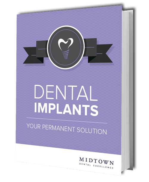 Preview of Dental Implants ebook from this dentist in Midtown Manhattan