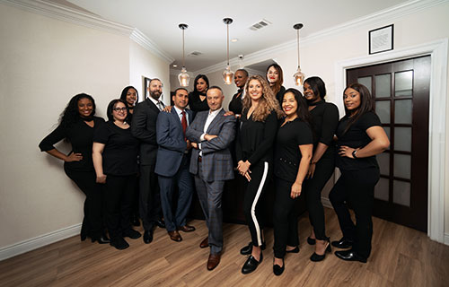 The entire team of our dentist in Midtown Manhattan