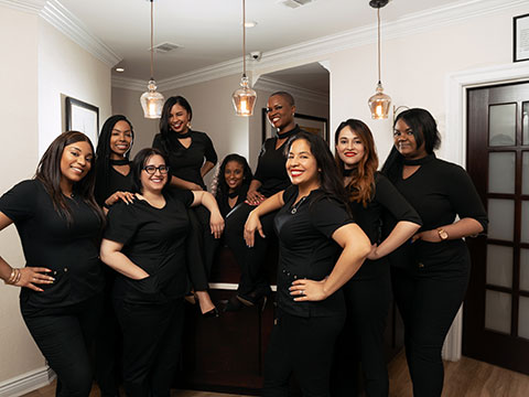 The entire team of Midtown Dental Excellence